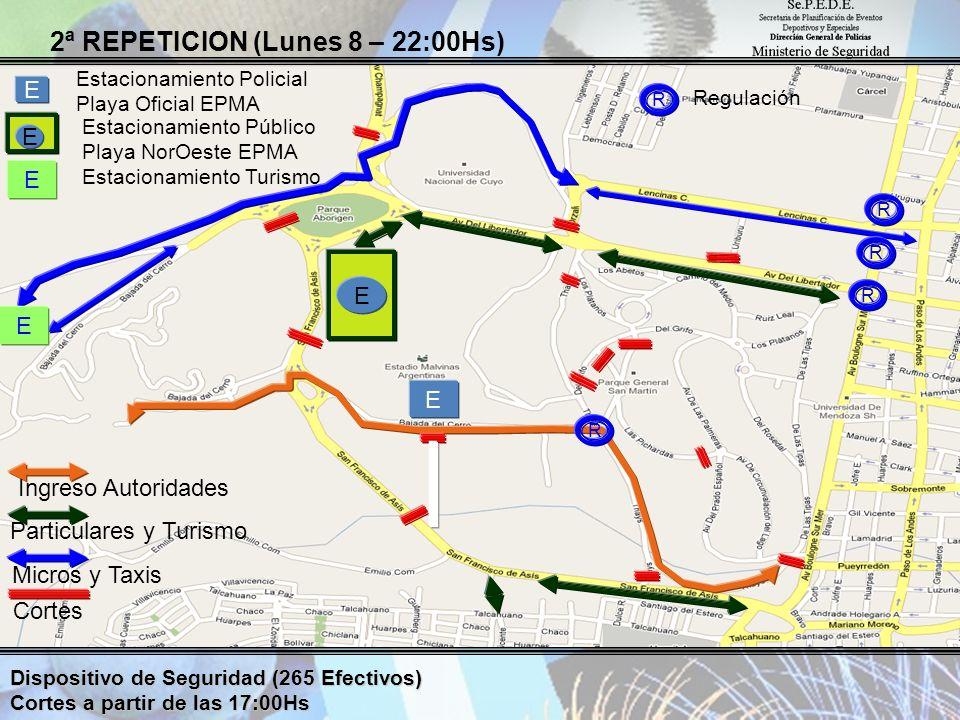 2ª REPETICION (Lunes 8 – 22:00Hs)