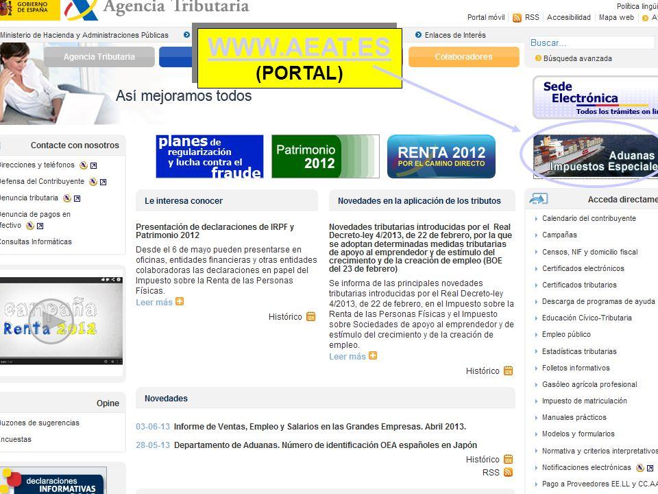 WWW.AEAT.ES (PORTAL)