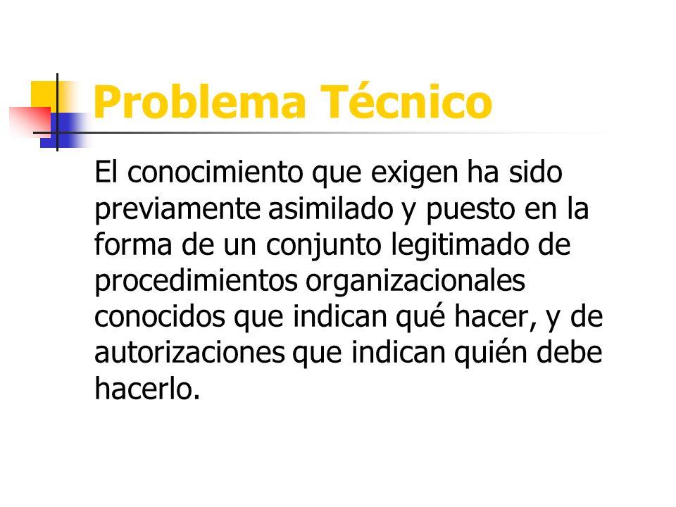 Problema Técnico