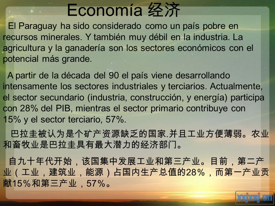 Economía 经济