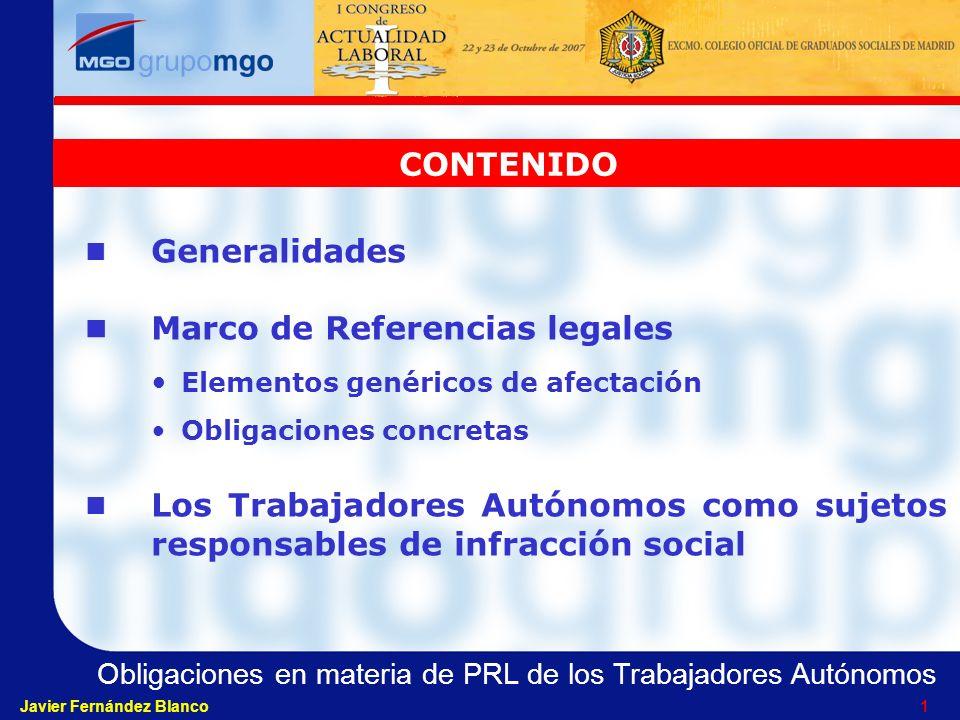 Marco de Referencias legales