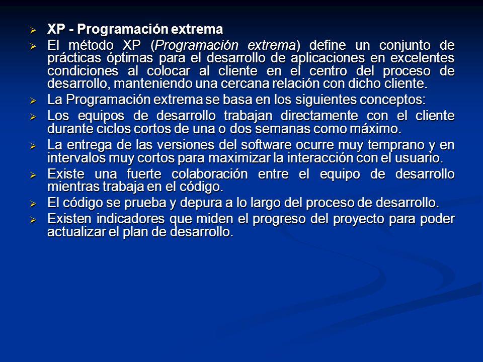 XP - Programación extrema