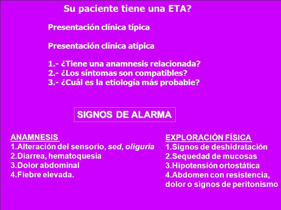 Su paciente tiene una ETA