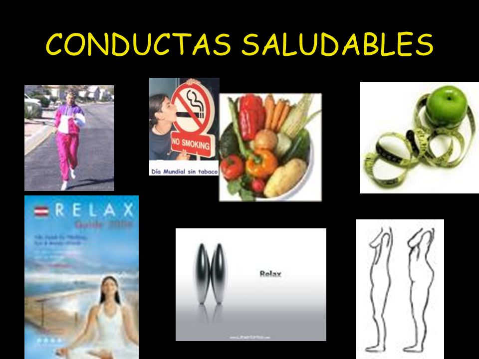 CONDUCTAS SALUDABLES