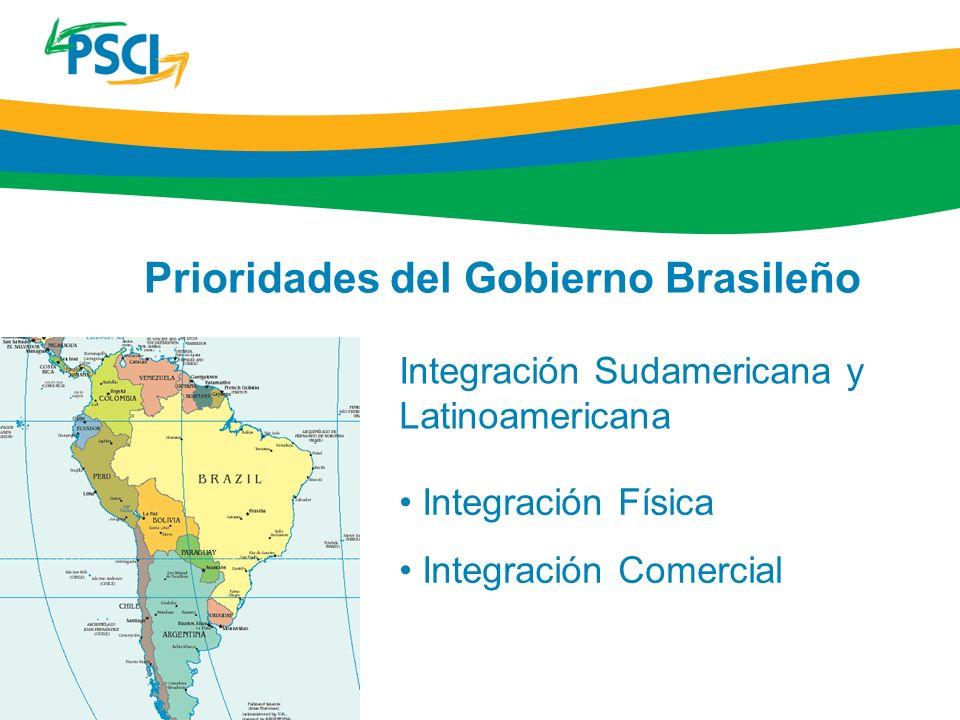 Prioridades del Gobierno Brasileño