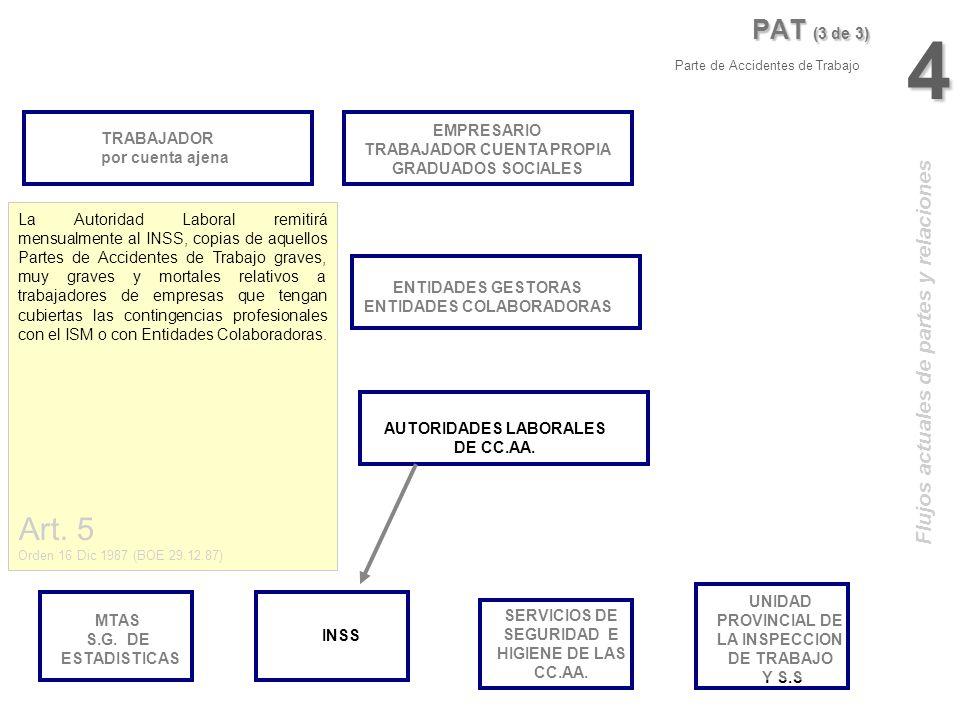4 Art. 5 PAT (3 de 3) Flujos actuales de partes y relaciones