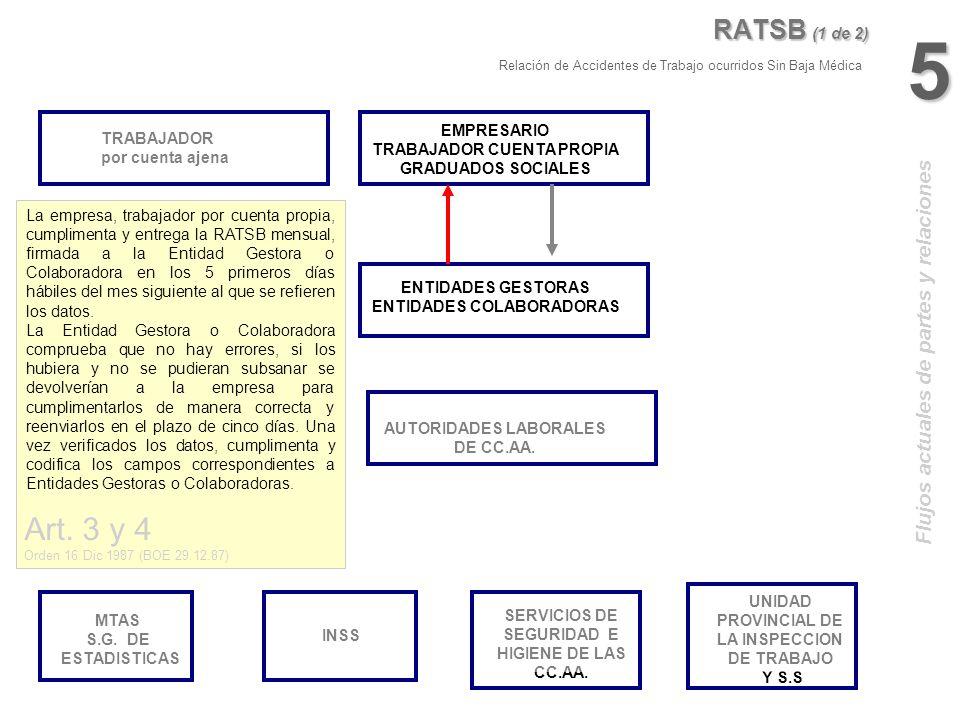 5 Art. 3 y 4 RATSB (1 de 2) Flujos actuales de partes y relaciones