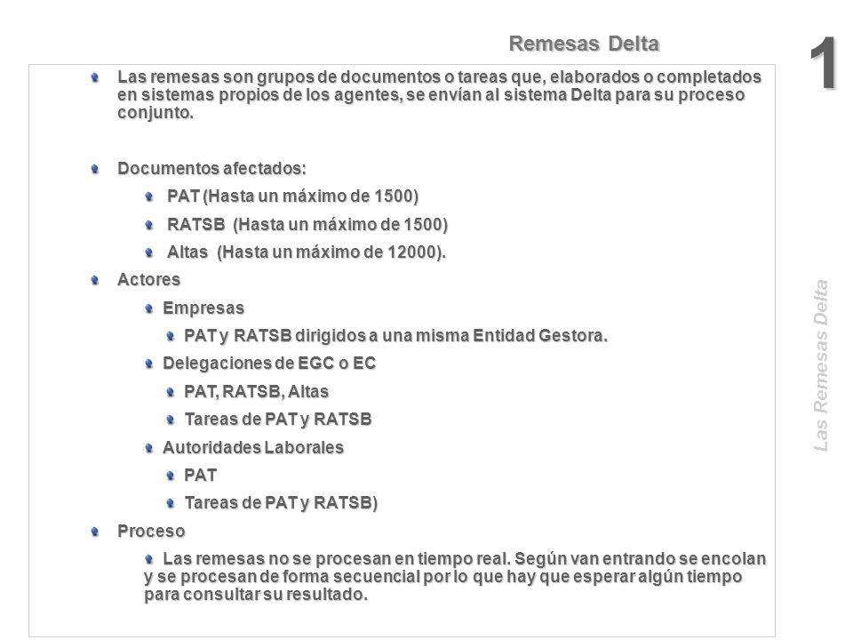 1 Remesas Delta Las Remesas Delta