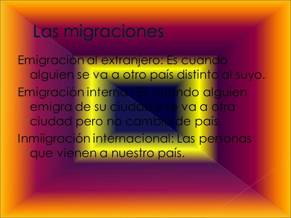 Las migraciones