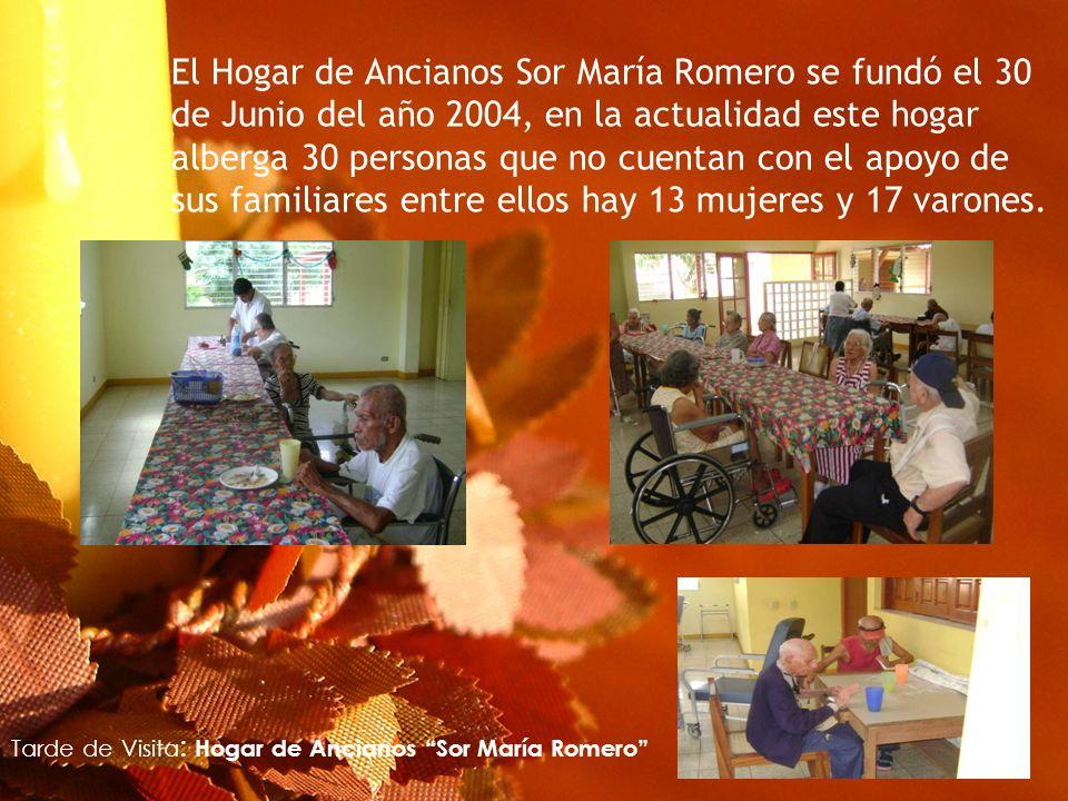 Tarde de Visita: Hogar de Ancianos Sor María Romero
