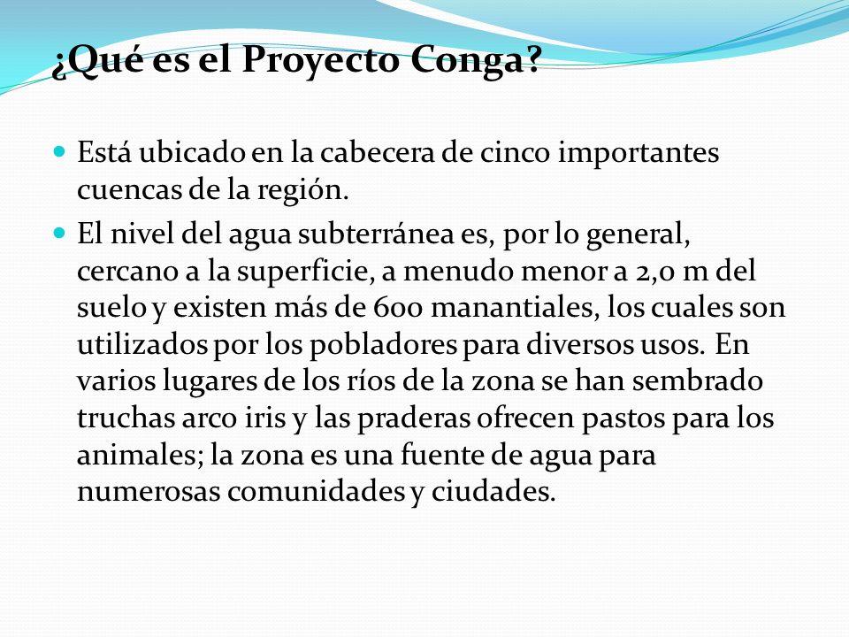 ¿Qué es el Proyecto Conga