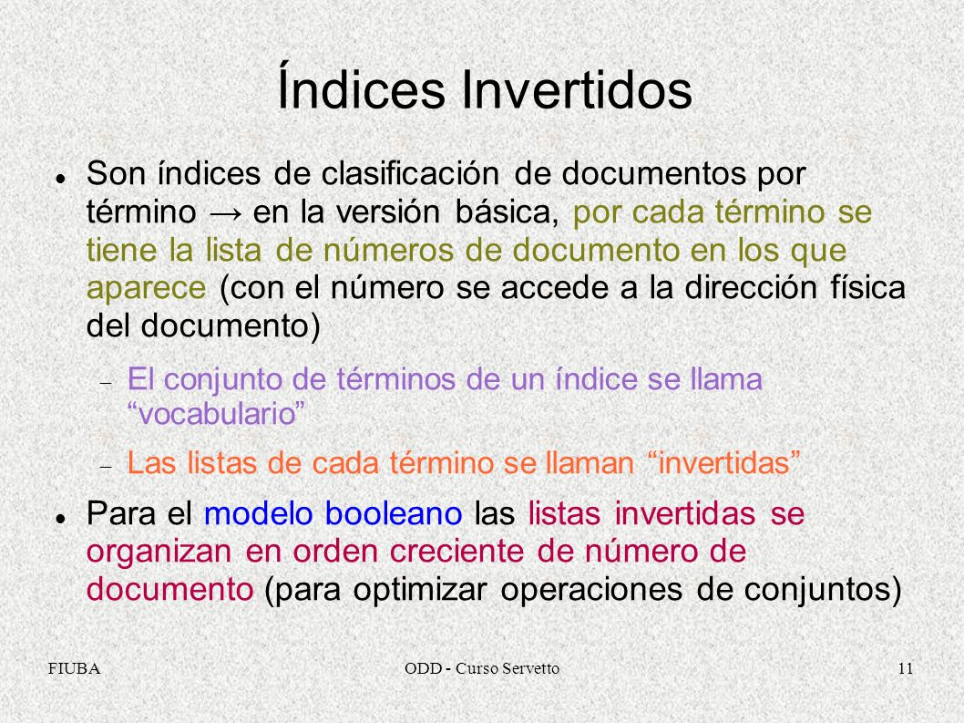 Índices Invertidos