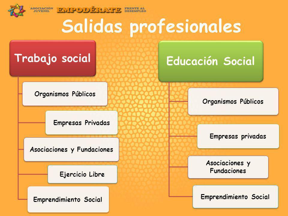 perspectivas del acceso laboral en trabajo social y educaciÓn