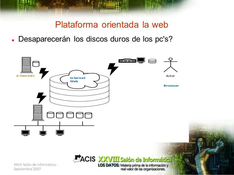 Plataforma orientada la web