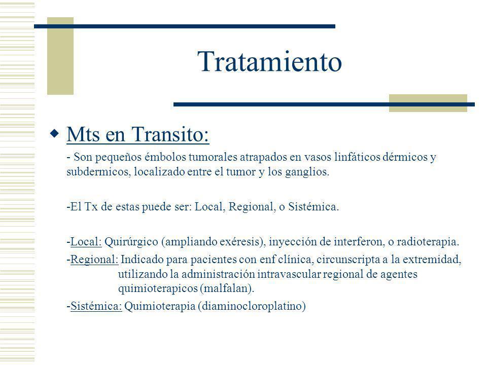 Tratamiento Mts en Transito: