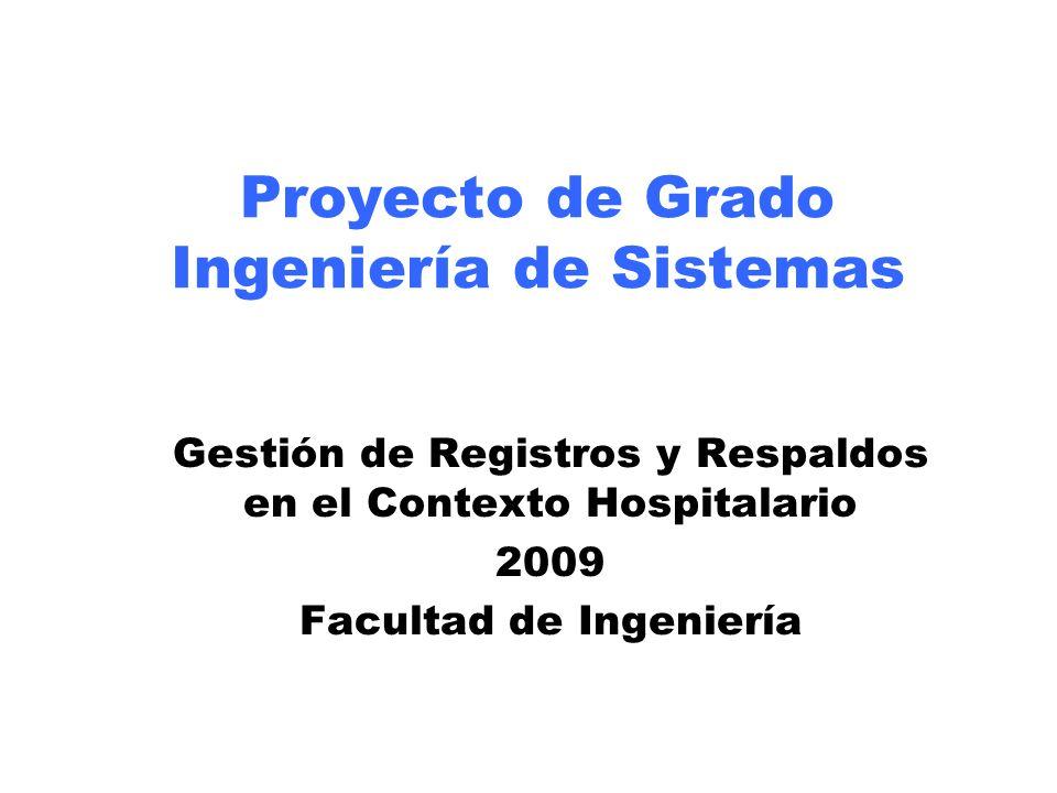 Proyecto de Grado Ingeniería de Sistemas