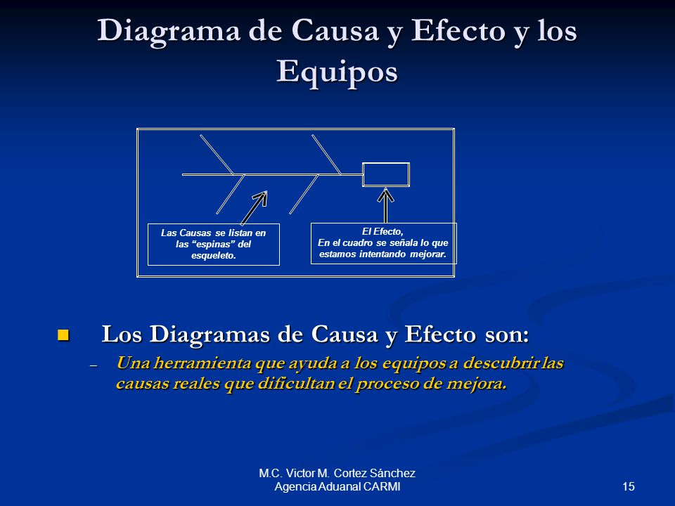 Diagrama de Causa y Efecto (Diagrama de Pescado) - ppt video online ...