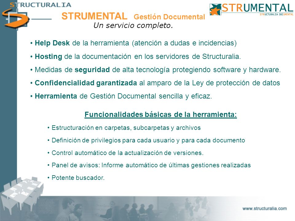 STRUMENTAL Gestión Documental
