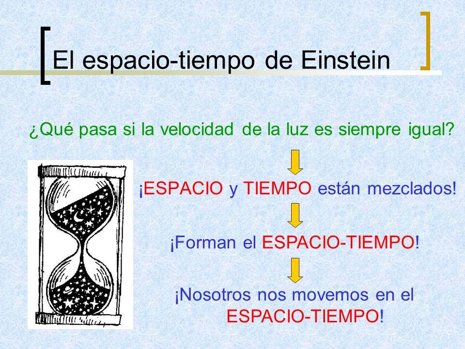 El espacio-tiempo de Einstein