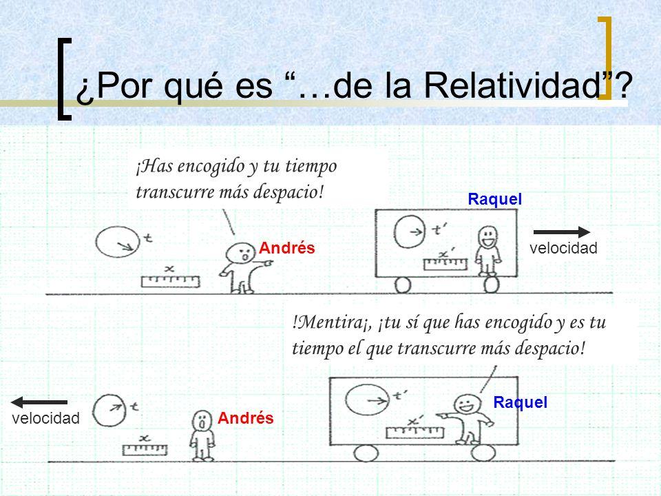 ¿Por qué es …de la Relatividad