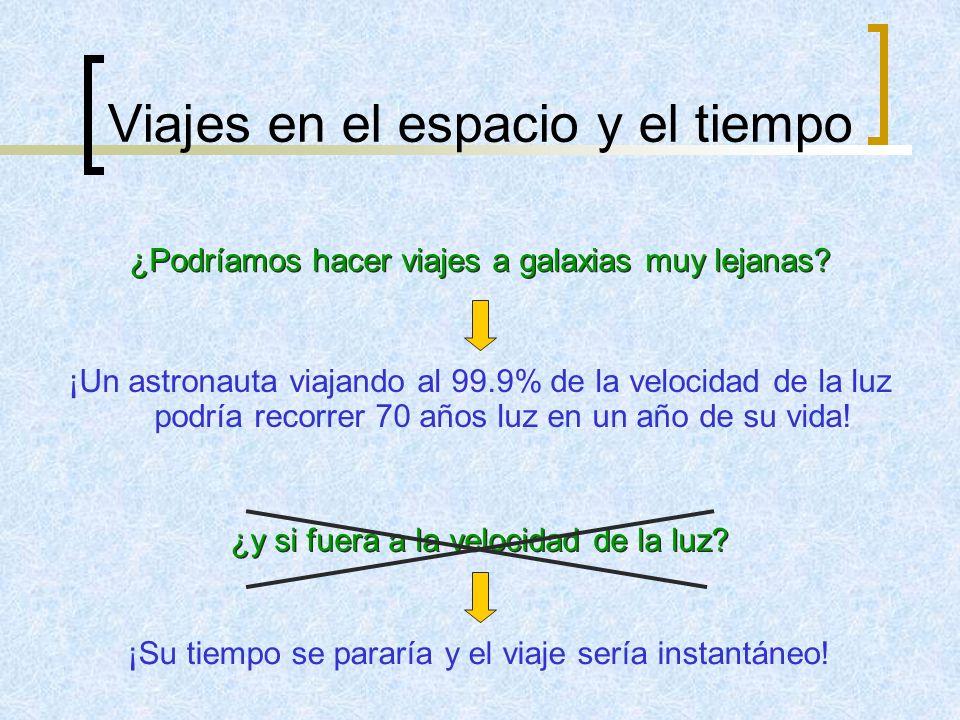Viajes en el espacio y el tiempo