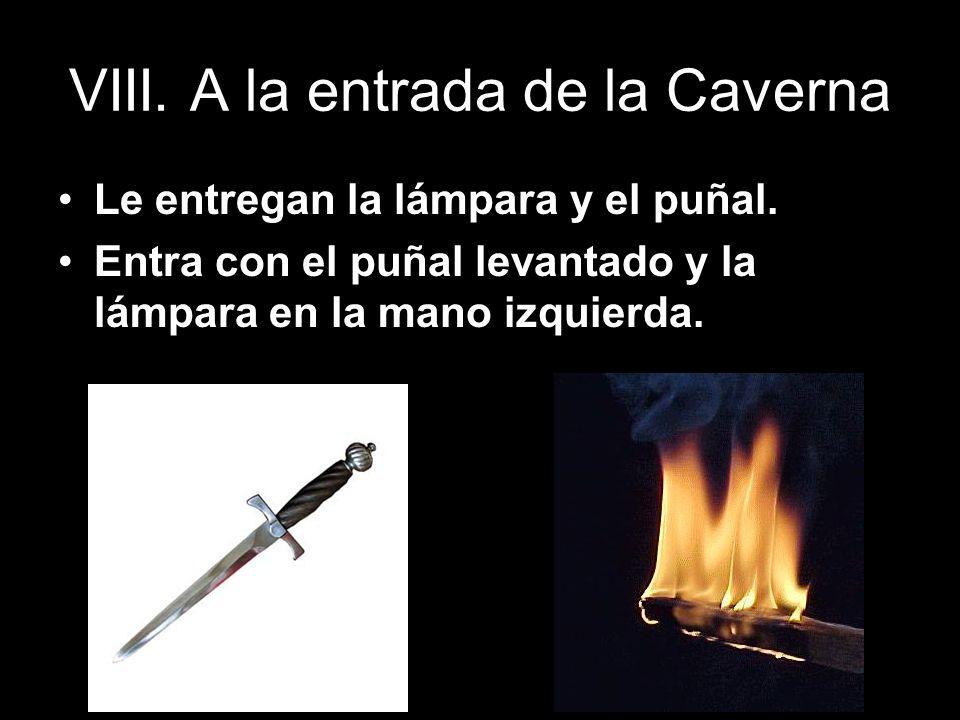 VIII. A la entrada de la Caverna