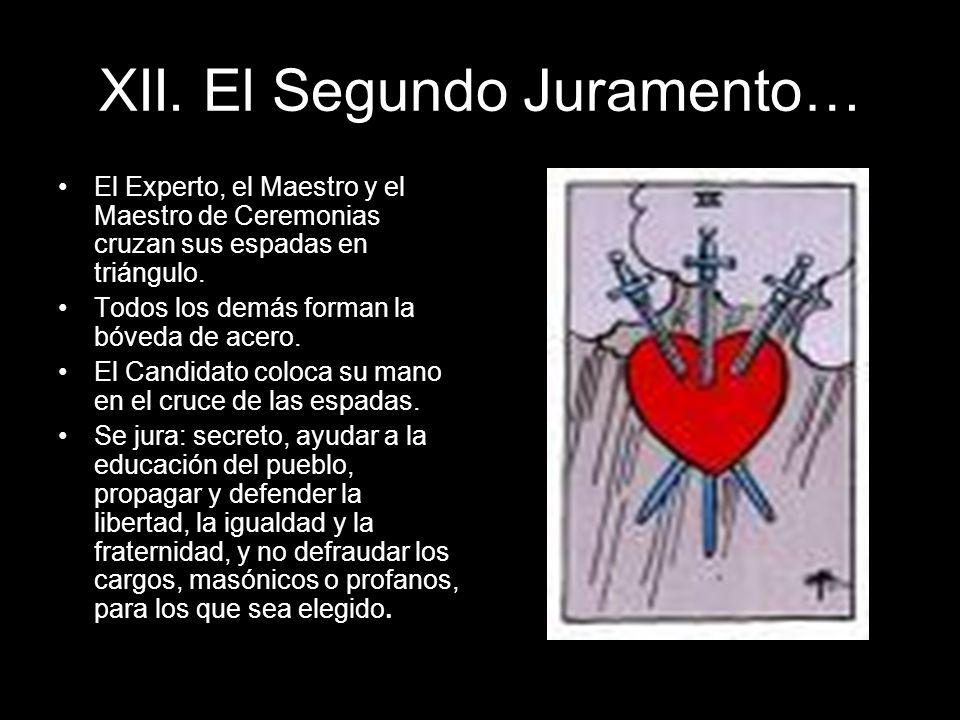 XII. El Segundo Juramento…