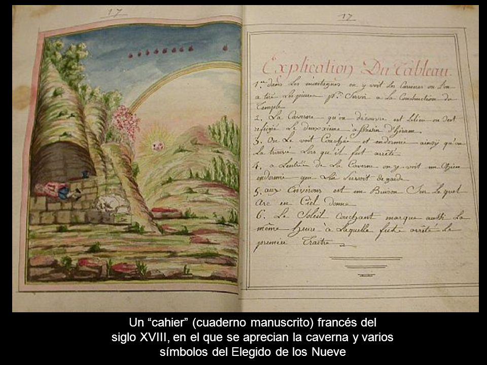 Un cahier (cuaderno manuscrito) francés del