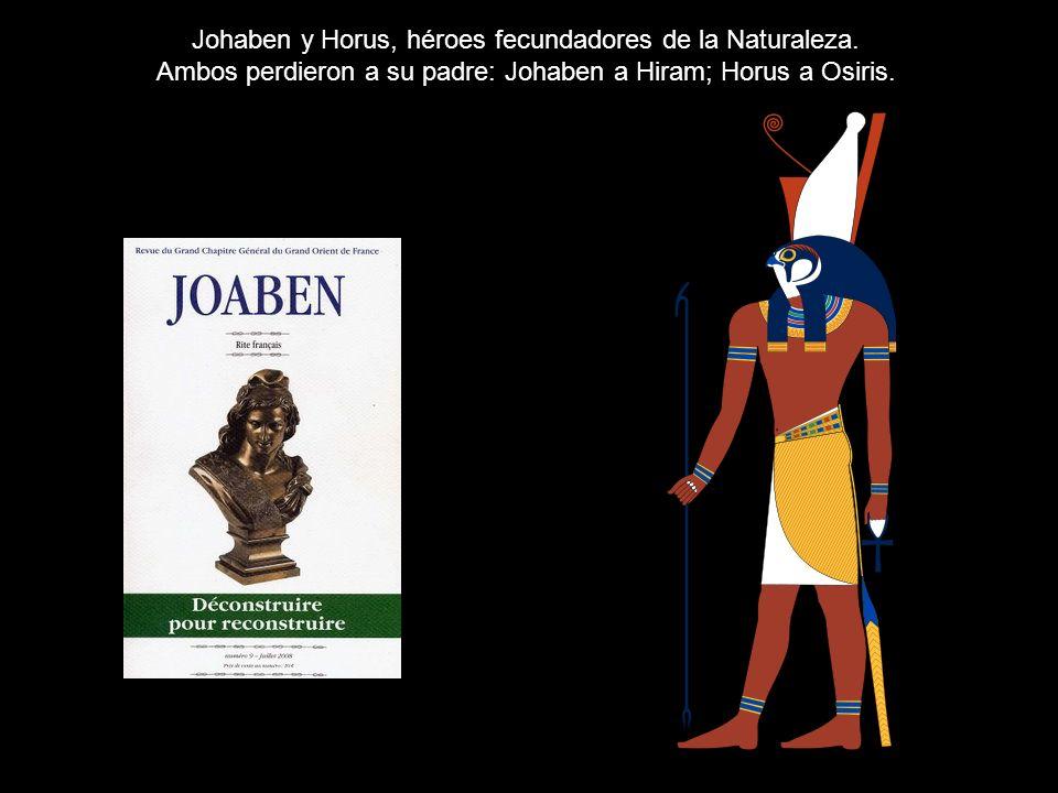 Johaben y Horus, héroes fecundadores de la Naturaleza.