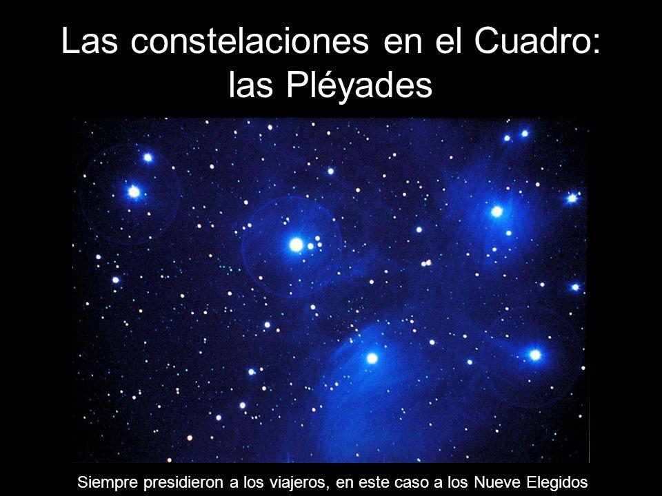 Las constelaciones en el Cuadro: las Pléyades