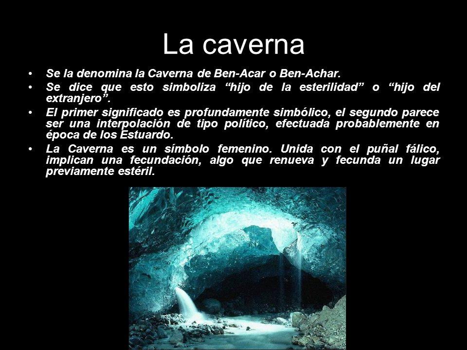 La caverna Se la denomina la Caverna de Ben-Acar o Ben-Achar.