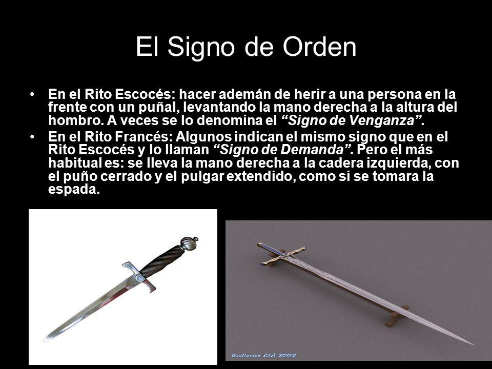 El Signo de Orden