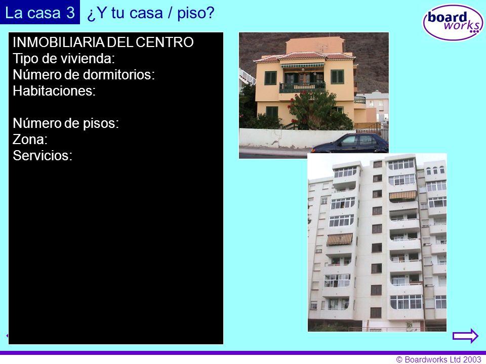 La casa 3 ¿Y tu casa / piso INMOBILIARIA DEL CENTRO Tipo de vivienda: