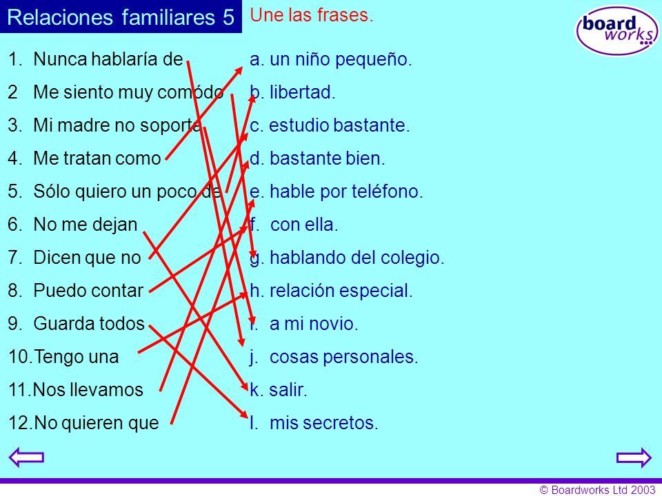 Relaciones familiares 5