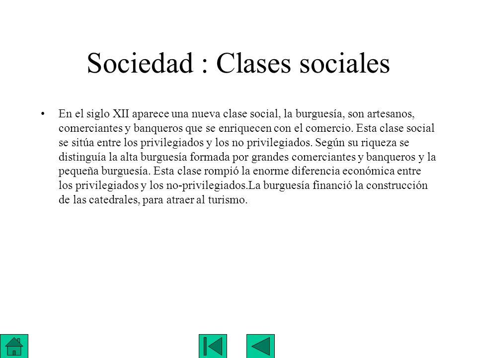 Sociedad : Clases sociales
