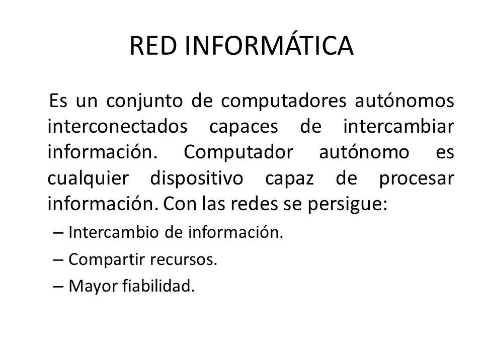 RED INFORMÁTICA