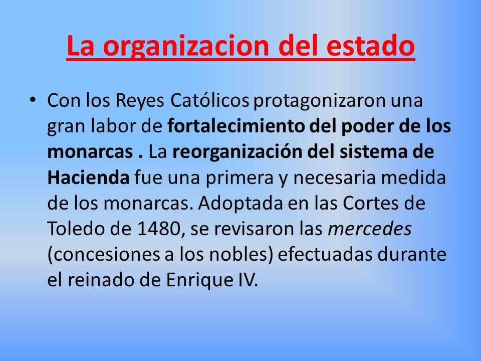 La organizacion del estado