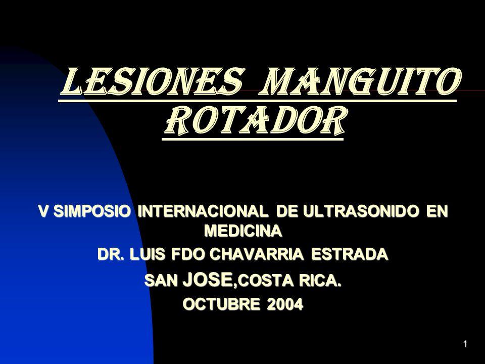 lesiones manguito rotador