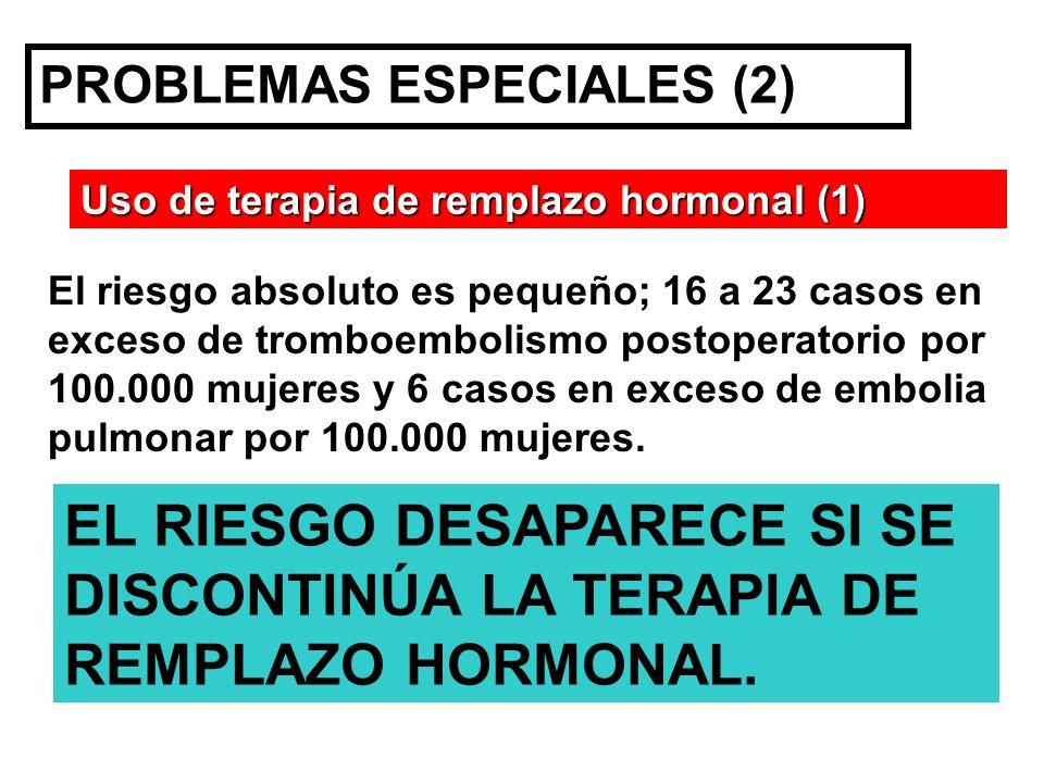 PROBLEMAS ESPECIALES (2)