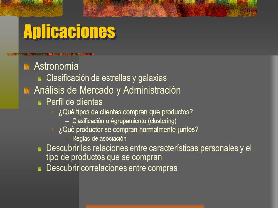 Aplicaciones Astronomía Análisis de Mercado y Administración