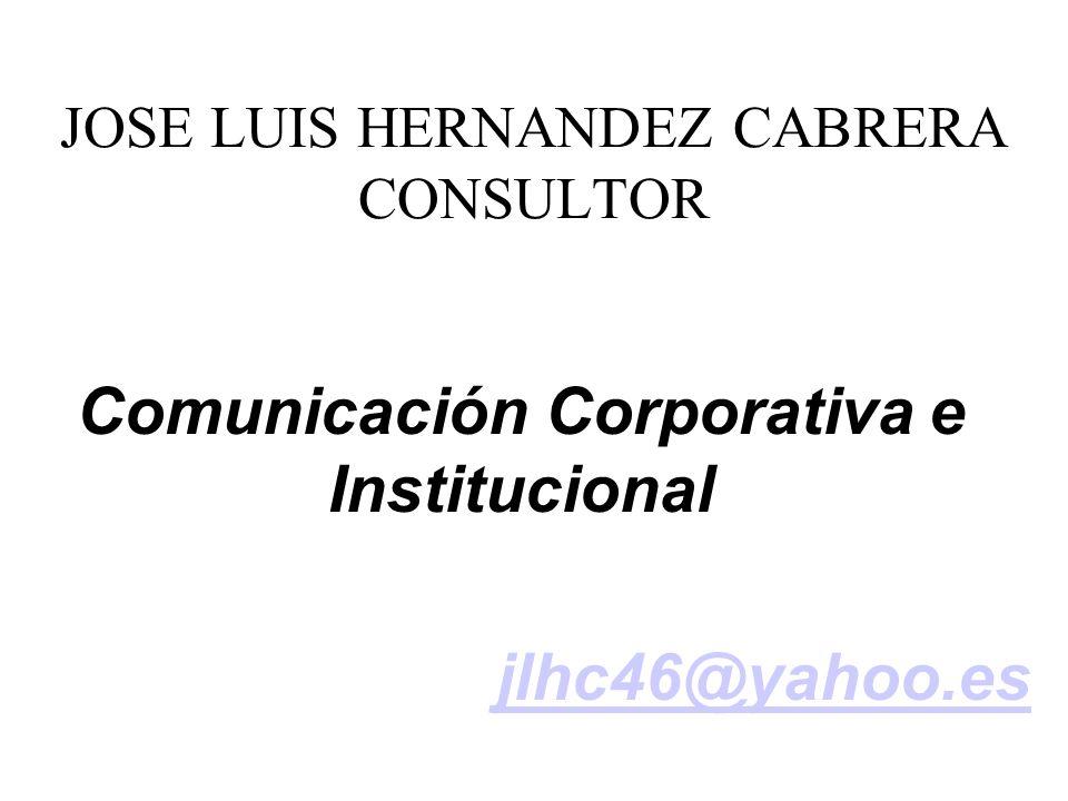 JOSE LUIS HERNANDEZ CABRERA CONSULTOR