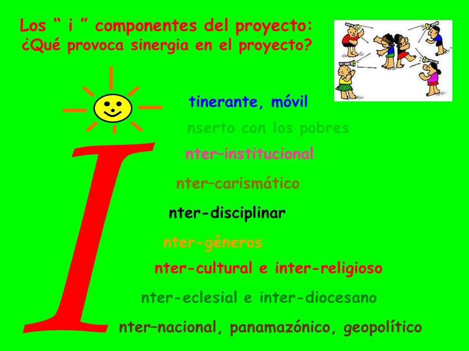 Los i componentes del proyecto: ¿Qué provoca sinergia en el proyecto