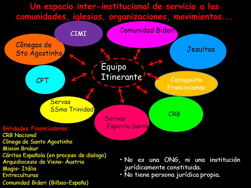 Un espacio inter-institucional de servicio a las