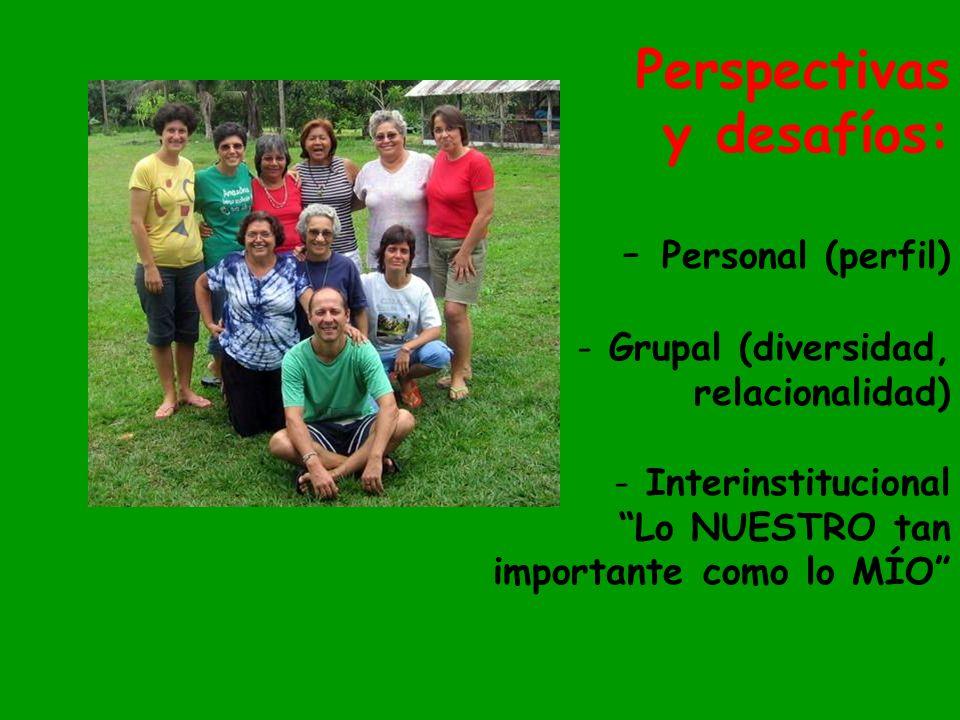 Perspectivas y desafíos: Personal (perfil)