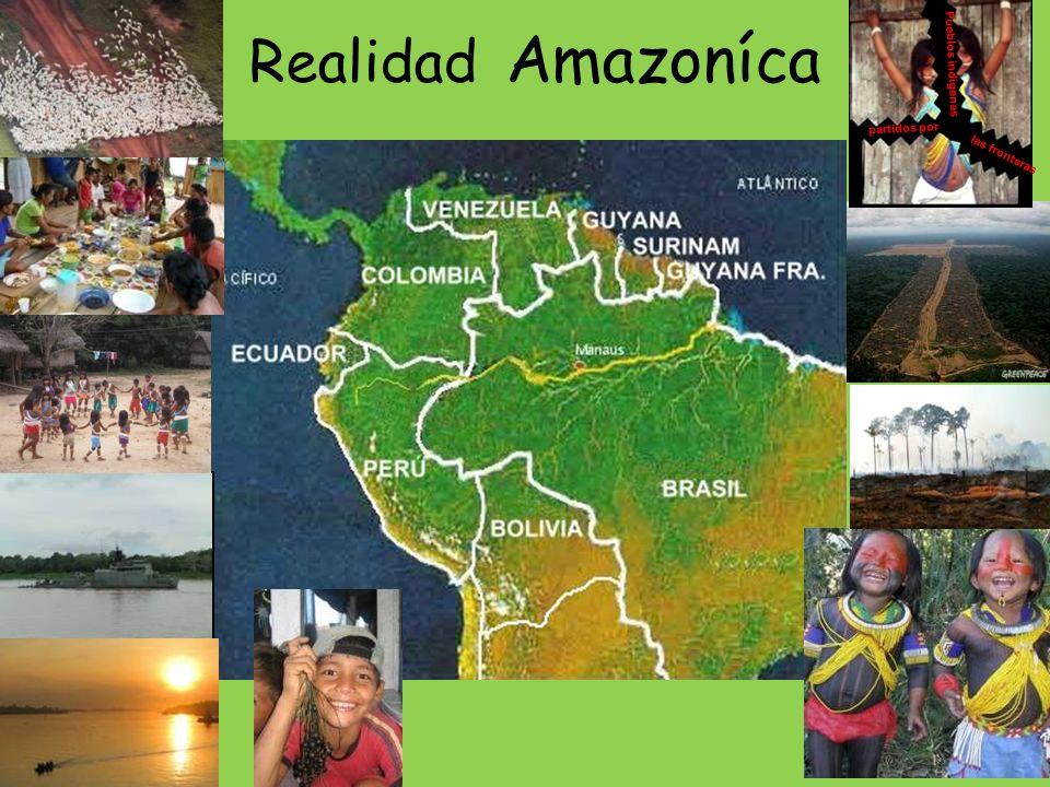 Realidad Amazoníca Pueblos indígenas partidos por las fronteras