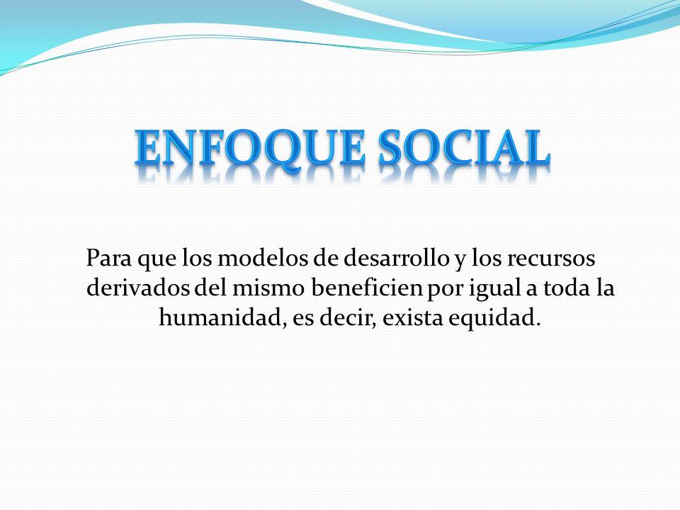 Enfoque social