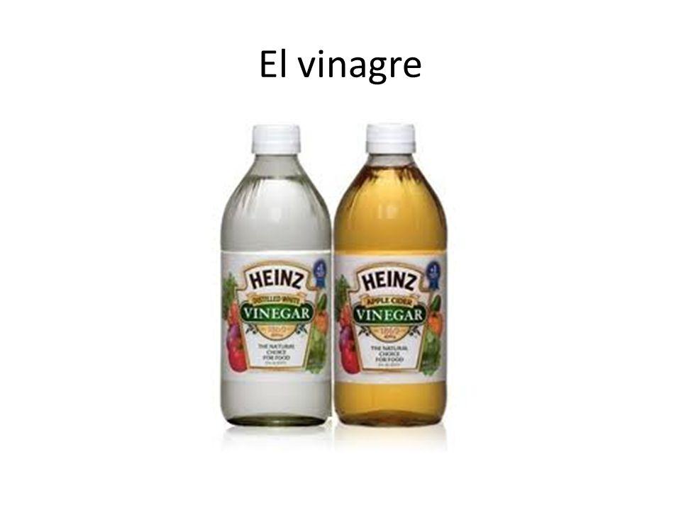 El vinagre