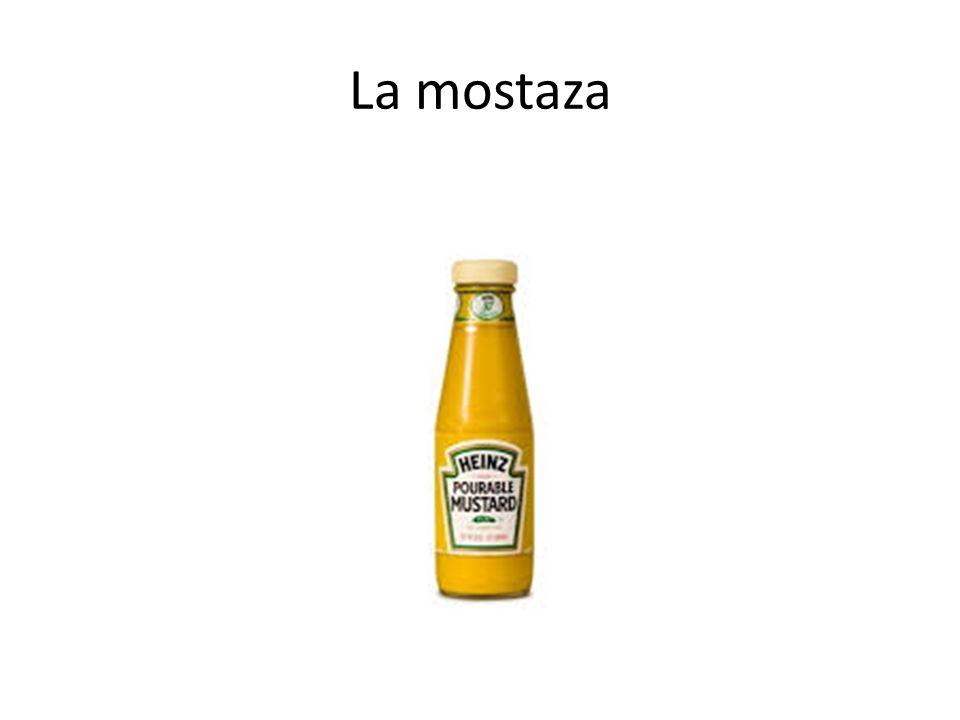 La mostaza