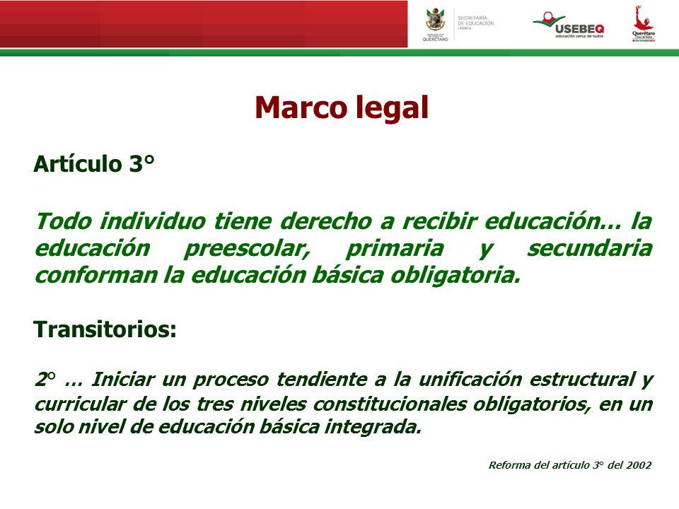Marco legal Artículo 3°