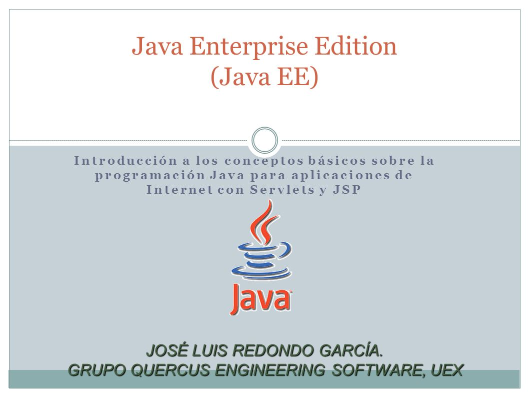 Java Enterprise Edition (Java EE)